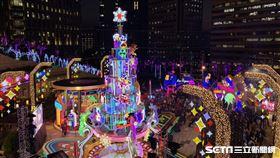 統一時代百貨聖誕點燈活動。
