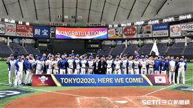 韓國隊拿下奧運門票。(圖/記者王怡翔攝影)