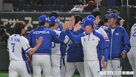 12強韓國隊擊敗墨西哥。(圖/記者王怡翔攝影)