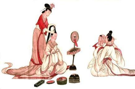 古代染髮(新華網)