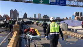 新北市,三重,中興橋,死亡車禍,翻覆