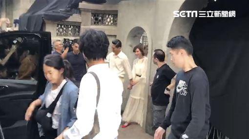 林志玲,AKIRA婚禮彩排 來源 新媒體