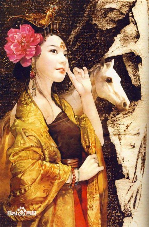 太平公主。(圖/翻攝百度百科)