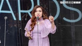 第十屆金音獎海外創作音樂獎的香港女歌手Serrini
