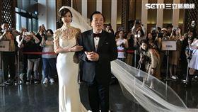 林志玲,林繁男,婚禮(圖/記者邱于倫攝影)
