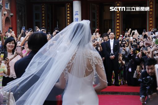 林志玲,AKIRA,婚禮,林繁男(圖/記者林聖凱攝影)