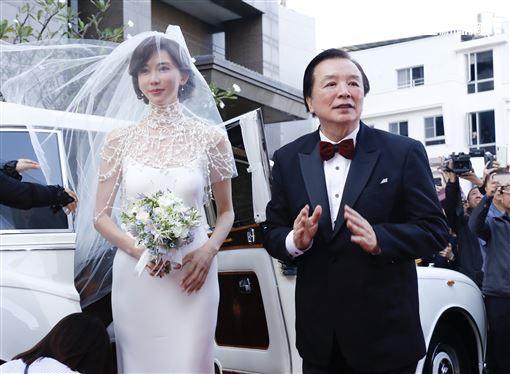 林志玲、AKIRA(黑澤良平))/林繁男/婚禮/全臺吳姓大宗祠。記者林聖凱攝影