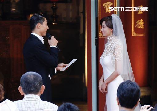 林志玲,AKIRA(黑澤良平),婚禮,全臺吳姓大宗祠(圖/記者林聖凱攝影)