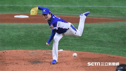 ▲12強冠軍戰韓國先發投手梁玹種。(圖/記者王怡翔攝影)