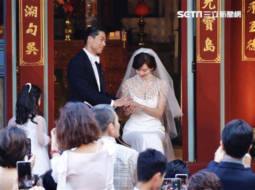 林志玲,AKIRA,黑澤良平,婚禮(圖/記者林聖凱攝影)