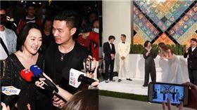 林志玲,AKIRA,婚宴,蔡康永,小S,合體,康熙來了 記者林聖凱攝影、翻攝自林健寰臉書