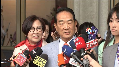親民黨總統參選人宋楚瑜。