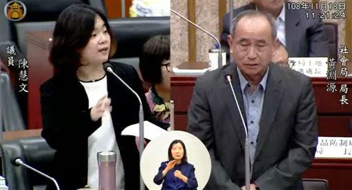 韓國瑜,腦殘,身障,歧視,陳慧文,議會