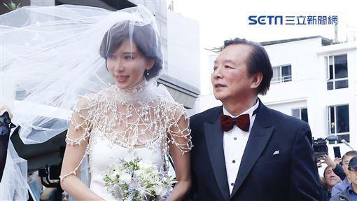 林志玲,AKIRA(黑澤良平),婚禮(圖/記者林聖凱攝影)