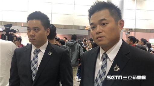 ▲12強中華隊胡金龍、陳鴻文坦言有意續戰6搶1。(圖/記者黃泓哲攝影)