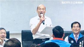 韓國瑜拜訪新北市議會 圖/記者林恩如攝影