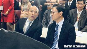 韓國瑜,張善政 記者林恩如攝影