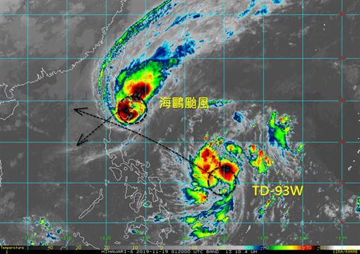 鳳凰颱風圖/翻攝自台灣颱風論壇|天氣特急、吳聖宇臉書
