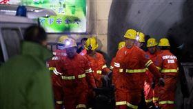 中國山西省平遙縣18日下午發生一起煤礦瓦斯爆炸事故,造成15死9傷。(圖/中新社)