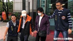 台北市曾姓女計程車司機,因車輛突然故障暴衝,她原本打算利用路旁機車減速,卻撞上林姓游泳教練,並害對方截肢昏迷(楊忠翰攝)