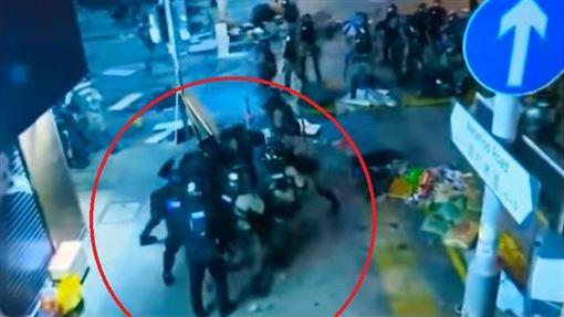 香港,反送中,暴警,圍毆,警民衝突