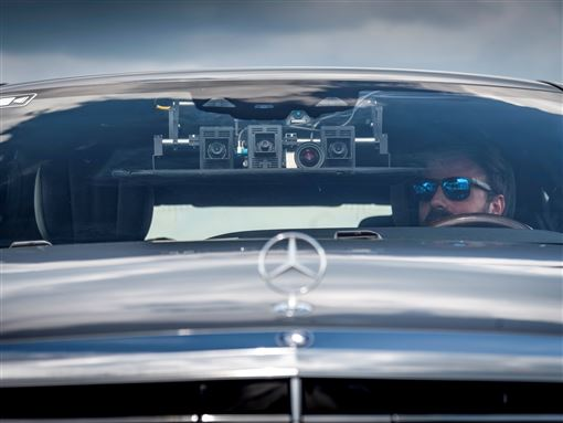 ▲賓士自動駕駛計程車Robotaxis(圖/翻攝網路)
