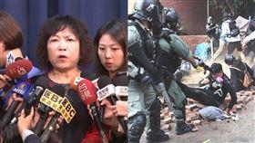 「警察最接近庶民」葉毓蘭再挺港警:恢復治安何錯之有? 圖資料照、翻攝自臉書