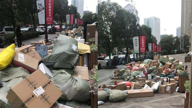 快遞員領完工資就落跑!3千包裹堆積如山…同事累哭超崩潰