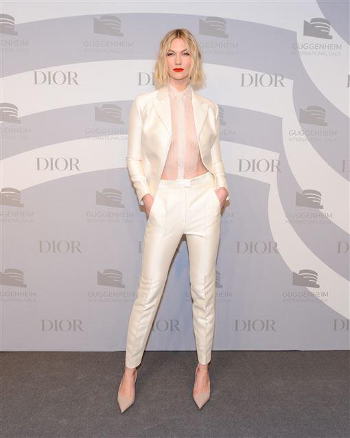 Dior提供 莎莉賽隆與超模卡莉克勞斯