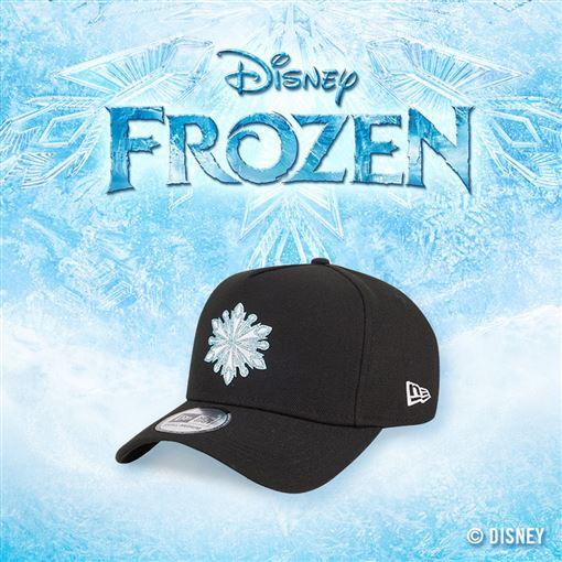 潮流品牌New Era與迪士尼合作推出的《冰雪奇緣2》聯名系列帽款