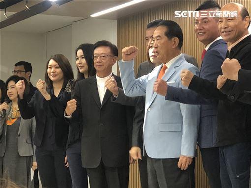 滕西華,宋楚瑜,劉宥彤(圖/記者林恩如攝影)