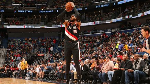 NBA/睽違一年多!先發甜瓜飆三分NBA,波特蘭拓荒者,Carmelo Anthony翻攝自推特