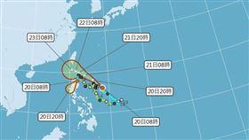 (圖/中央氣象局)颱風,鳳凰