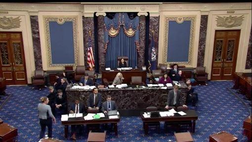 在香港警民衝突越演越烈之際,美國聯邦參議院19日以「一致同意」方式,通過備受矚目的參院版「香港人權與民主法案」。(翻攝參議院網站畫面)