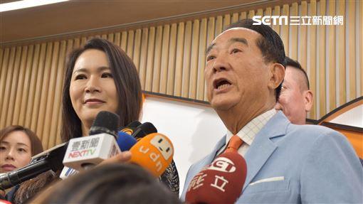 宋楚瑜,2020,親民黨,宣明智,劉宥彤,蔡沁瑜,滕西華 記者林恩如攝影