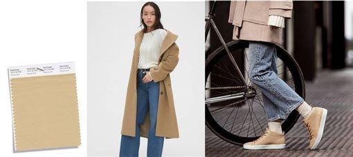 美式休閒品牌Gap與丹麥鞋履品牌ECCO根據色彩權威機構Pantone整理2019三大秋冬流行色與兩款經典不敗色