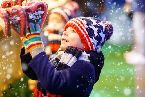 ▲飄雪的德國聖誕,美如冬日風情畫。(圖/shutterstock.com)
