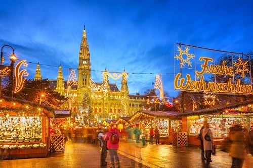 ▲奧地利維也納聖誕市集(圖/shutterstock.com)