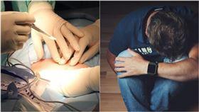 手術室,手術,醫師,護理師,麻醉,開刀,結紮(合成圖/翻攝自Pixabay)