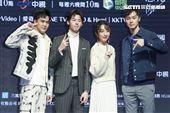 《想見你》首映會主演柯佳嬿、許光漢、施柏宇、顏毓麟出席。(圖/記者林士傑攝影)