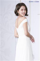 蘇晏霈出席代言美妝產品。(圖/記者林士傑攝影)