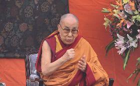 達賴喇嘛在新德里演說並答覆學生提問
