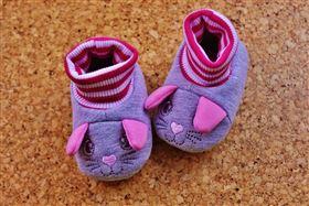 童鞋,粉紅色,嬰兒,鞋子,寶寶(圖/翻攝自Pixabay)