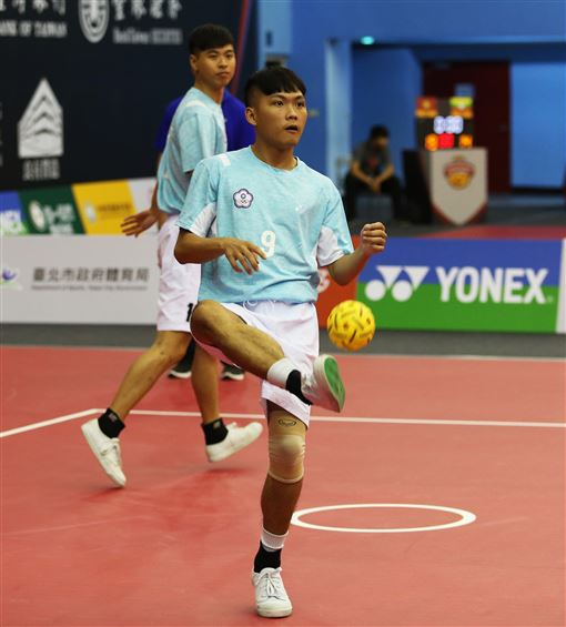▲台灣首度舉辦國際藤球賽。(圖/藤球協會提供)