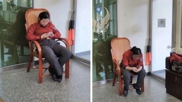 特權?女消防總是滑手機⋯遭爆:只出勤1次、入住單人寢室