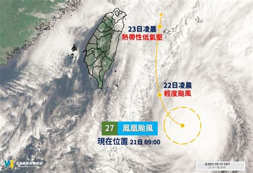 氣象局,天氣,大雨特報,鳳凰颱風,天氣風險,WeatherRisk