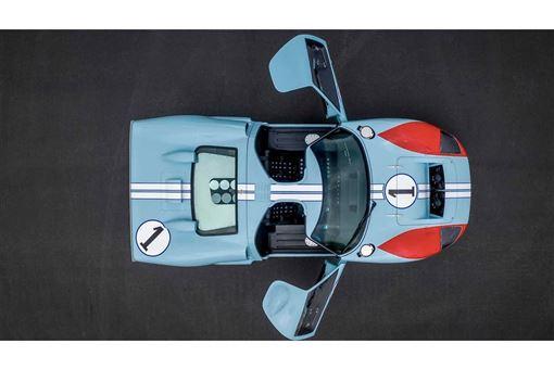 ▲電影「賽道狂人」拍攝用的GT40賽車。(圖/翻攝網站)