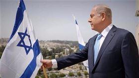 以色列,尼坦雅胡,無法,組織政府,一年3度,選舉,更趨一步(圖/中央社)