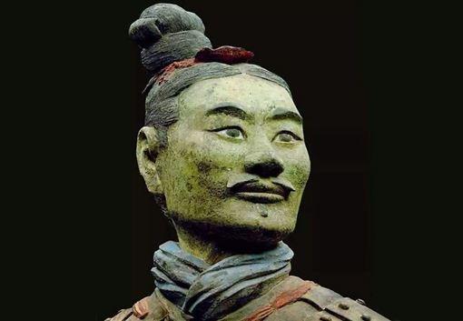 大陸,兵馬傭,綠臉,秦始皇,神秘