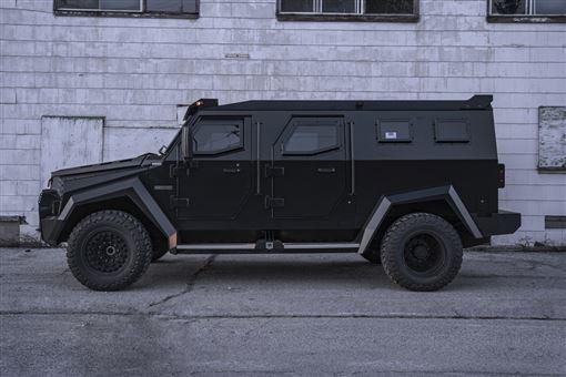 ▲擁有豪華內裝的INKAS Sentry Civilian裝甲車。(圖/翻攝網站)